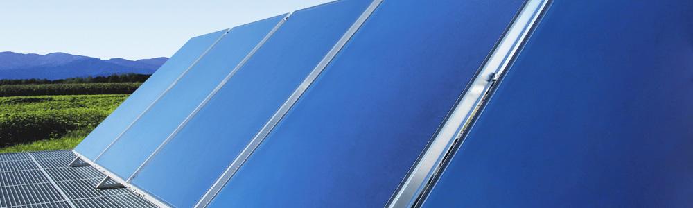 Energía Solar Térmica - Paneles